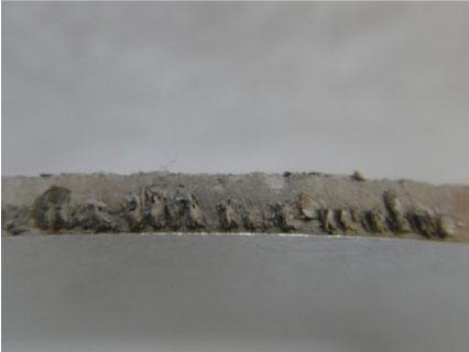圖二:刀具切割-單刃銑刀鋁板切割應用案例