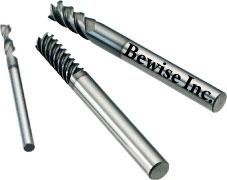 端銑刀-刀具中,平銑刀/端銑刀/銑刀/面銑刀等四種刀具之特色及加工差異