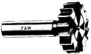 半月鍵座銑刀,銑刀和刀具的選用