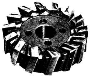 高速鋼面銑刀盤,銑刀和刀具的選用
