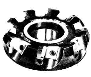 碳化鎢面銑刀盤,銑刀和刀具的選用