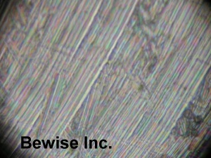 金屬陶瓷刀具切削初期刀痕金相圖